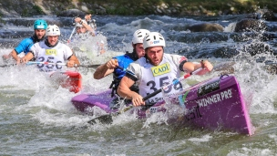 2019 ICF Wildwater Canoeing World Championships La Seu dUrgell Spain France C2 Men Team