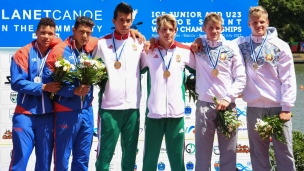 027 c2 junior men 1000m 2017 icf canoe sprint junior u23 world championships pitesti romania