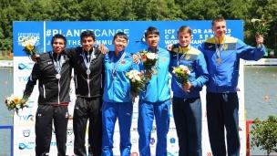 032 c2 u23 men 1000m 2017 icf canoe sprint junior u23 world championships pitesti romania