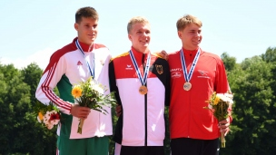 036 k1 junior men 1000m 2017 icf canoe sprint junior u23 world championships pitesti romania