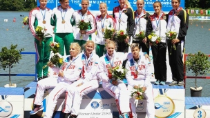 086 k4 u23 women 500m 2017 icf canoe sprint junior u23 world championships pitesti romania