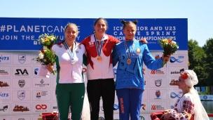 115 c1 u23 women 200m 2017 icf canoe sprint junior u23 world championships pitesti romania