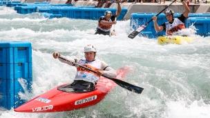 2018 ICF Canoe Slalom World Championships Rio Brazil C1 Men's Team Slovakia