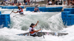 2018 ICF Canoe Slalom World Championships Rio Brazil C1 Women's Team Great Britain
