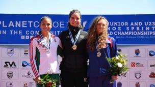 210 k1 u23 women 200m 2017 icf canoe sprint junior u23 world championships pitesti romania