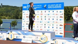 222 k1 u23 women 500m 2017 icf canoe sprint junior u23 world championships pitesti romania