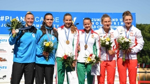239 k2 junior women 500m 2017 icf canoe sprint junior u23 world championships pitesti romania