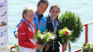271 c1 junior women 500m 2017 icf canoe sprint junior u23 world championships pitesti romania