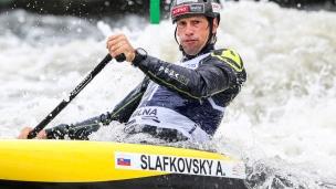 2018 ICF Canoe Slalom World Cup 2 Krakow Alexander SLAFKOVSKY SVK