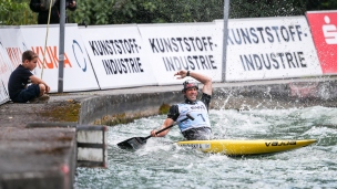 2018 ICF Canoe Slalom World Cup 3 Augsburg Germany Alexander Slafkovsky SVK