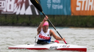 2018 ICF Canoe Sprint World Cup 1 Szeged Hungary Alexandra Dupik RUS