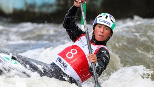 2018 ICF Canoe Slalom World Cup 2 Krakow Ana SATILA BRA