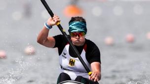 2018 ICF Canoe Sprint World Cup 1 Szeged Hungary Anja Adler GER