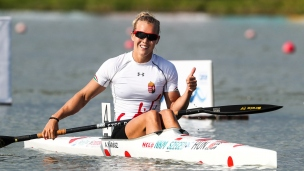 2018 ICF Canoe Sprint World Cup 1 Szeged Hungary Anna Karasz HUN