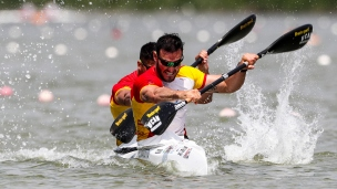 2018 ICF Canoe Sprint World Cup 1 Szeged Hungary C Toro - S Craviotto ESP