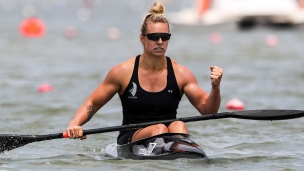 2018 ICF Canoe Sprint World Cup 1 Szeged Hungary Caitlin Ryan NZL