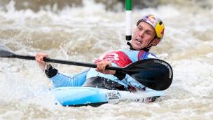 2018 ICF Canoe Slalom World Cup 1 Liptovsky Slovakia CLARKE Joseph GBR