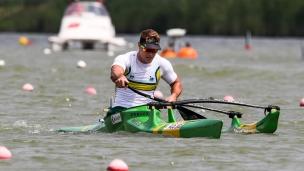 2018 ICF Canoe Sprint World Cup 1 Szeged Hungary Curtis McGrath AUS