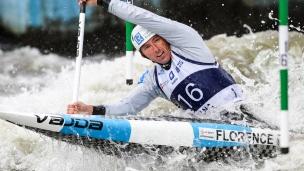 2018 ICF Canoe Slalom World Cup 2 Krakow David Florence GBR