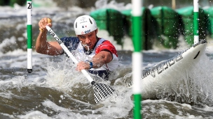 2018 ICF Canoe Slalom World Cup 2 Krakow Denis GARGAUD CHANUT FRA