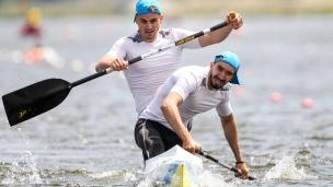 dmytro ianchuk taras mishchuk icf canoe kayak sprint world cup montemor-o-velho portugal 2017 049