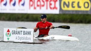 2018 ICF Canoe Sprint World Cup 1 Szeged Hungary Erik Kiss HUN