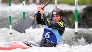 2018 ICF Canoe Slalom World Cup 1 Liptovsky Slovakia FISEROVA Tereza CZE