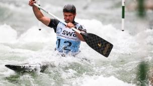 2018 ICF Canoe Slalom World Cup 3 Augsburg Germany Grzegorz Hedwig POL