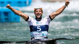 2018 ICF Canoe Slalom World Championships Rio Brazil Hannes Aigner GER