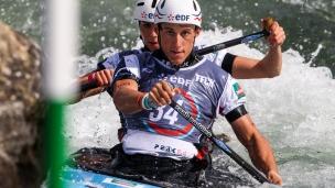 henry margaux - prigent yves fra 2017 icf canoe slalom world championships pau france 039 1