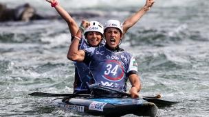 henry margaux - prigent yves fra 2017 icf canoe slalom world championships pau france 040 1