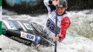 2018 ICF Canoe Slalom World Cup 2 Krakow Lucie BAUDU FRA