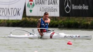 2018 ICF Canoe Sprint World Cup 1 Szeged Hungary Marius B Ciustea ITA