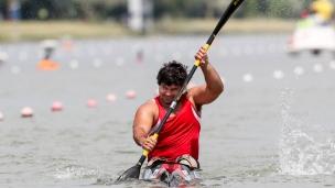 2018 ICF Canoe Sprint World Cup 1 Szeged Hungary Markus M Swoboda AUT