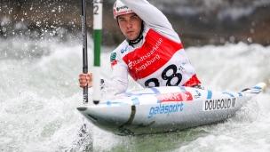 2018 ICF Canoe Slalom World Cup 3 Augsburg Germany Martin DouGoud SUI