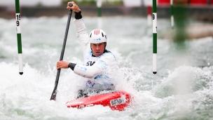 2018 ICF Canoe Slalom World Cup 3 Augsburg Germany Michal Martikan SVK