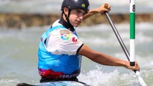 miquel trave esp icf junior u23 canoe slalom world championships 2017 015