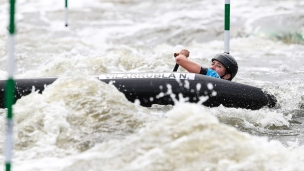 2018 ICF Canoe Slalom World Cup 2 Krakow Nuria VILARRUBLA ESP