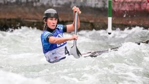 2018 ICF Canoe Slalom World Cup 3 Augsburg Germany Nuria Vilarrubla ESP