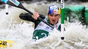 2018 ICF Canoe Slalom World Cup 2 Krakow Peter Kauzer SLO