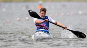 2018 ICF Canoe Sprint World Cup 1 Szeged Hungary Robert Oliver GBR