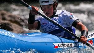 2018 ICF Wildwater Canoeing World Championships Muota SATKOVA MARTINA CZE