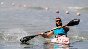 2018 ICF Canoe Sprint World Cup 1 Szeged Hungary Serhii Yemelianov UKR