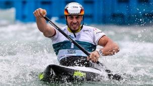 2018 ICF Canoe Slalom World Championships Rio Brazil Sideris Tasiadis GER