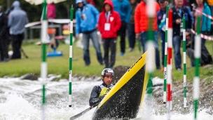 2018 ICF Canoe Slalom World Cup 1 Liptovsky Slovakia SLAFKOVSKY Alexander SVK
