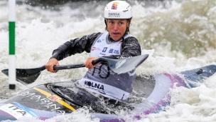 2018 ICF Canoe Slalom World Cup 2 Krakow Stefanie HORN ITA