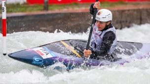 2018 ICF Canoe Slalom World Cup 3 Augsburg Germany Stefanie Horn ITA