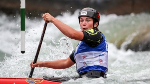 2018 ICF Canoe Slalom World Cup 3 Augsburg Germany Tereza Fiserova CZE