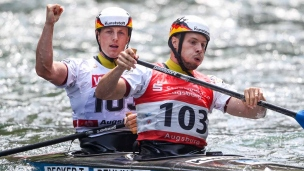 tomas becker robert behling icf canoe slalom world cup 2 augsburg germany 2017 009