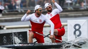 2018 ICF Canoe Sprint World Cup 1 Szeged Hungary V Slominski - M Kaminski POL